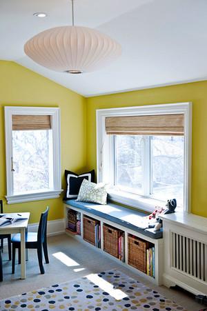 欧式风格简约时尚飘窗设计装修效果图