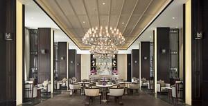 古典欧式风格五星级酒店装修效果图赏析