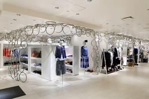 100平米简欧风格服装店设计装修效果图