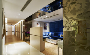 160平米欧式风格美容院装修效果图赏析