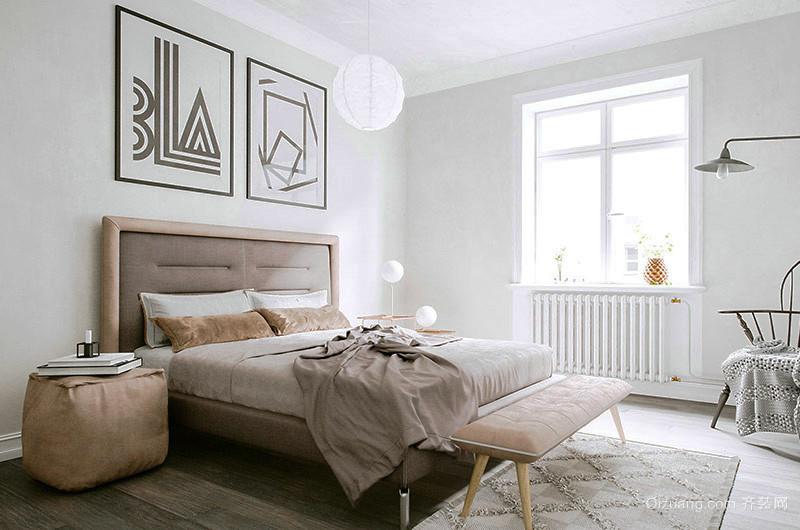 63平米北欧风格单身公寓装修效果图赏析