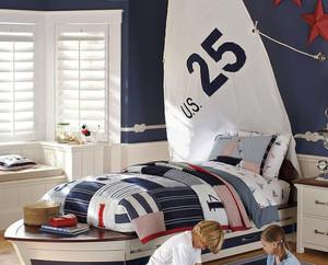 现代风格时尚创意儿童床装修效果图大全