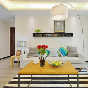 89平米小清新风格三室两厅室内装修效果图赏析
