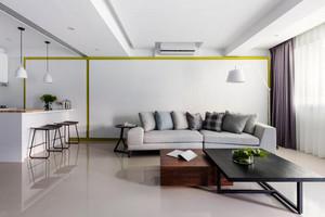79平米现代风格精致时尚两室一厅装修效果图赏析