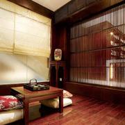 中式风大户型室内榻榻米装修效果图赏析