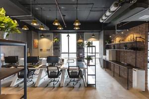 90平米后现代风格创意办公室装修效果图赏析