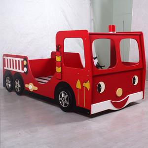 现代简约风格汽车模型儿童床装修效果图大全