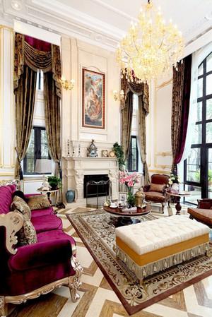 欧式风格奢华宫廷风别墅装修效果图案例