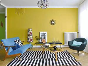 102平米时尚混搭风格两室两厅室内装修效果图案例