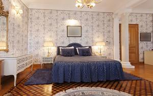 欧式风格精美卧室墙纸设计装修效果图赏析