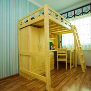 宜家风格简约儿童房实木儿童设计装修效果图