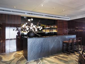 中式风格古典雅韵开放式厨房吧台装修效果图