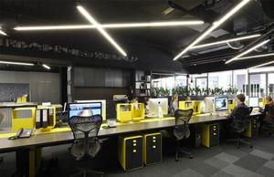 180平米后现代风格办公室装修效果图赏析
