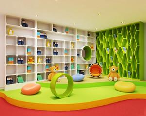 现代简约风格幼儿园活动室装修效果图赏析