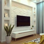 现代简约风格精装客厅电视背景墙装修效果图赏析