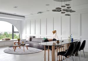 145平米后现代风格大户型室内装修效果图赏析