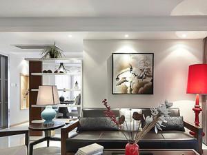 86平米现代风格精装两室两厅室内装修效果图