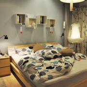 宜家风格温馨两居室卧室装修效果图赏析