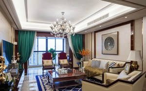 179平米新古典主义风格精致大户型室内装修效果图