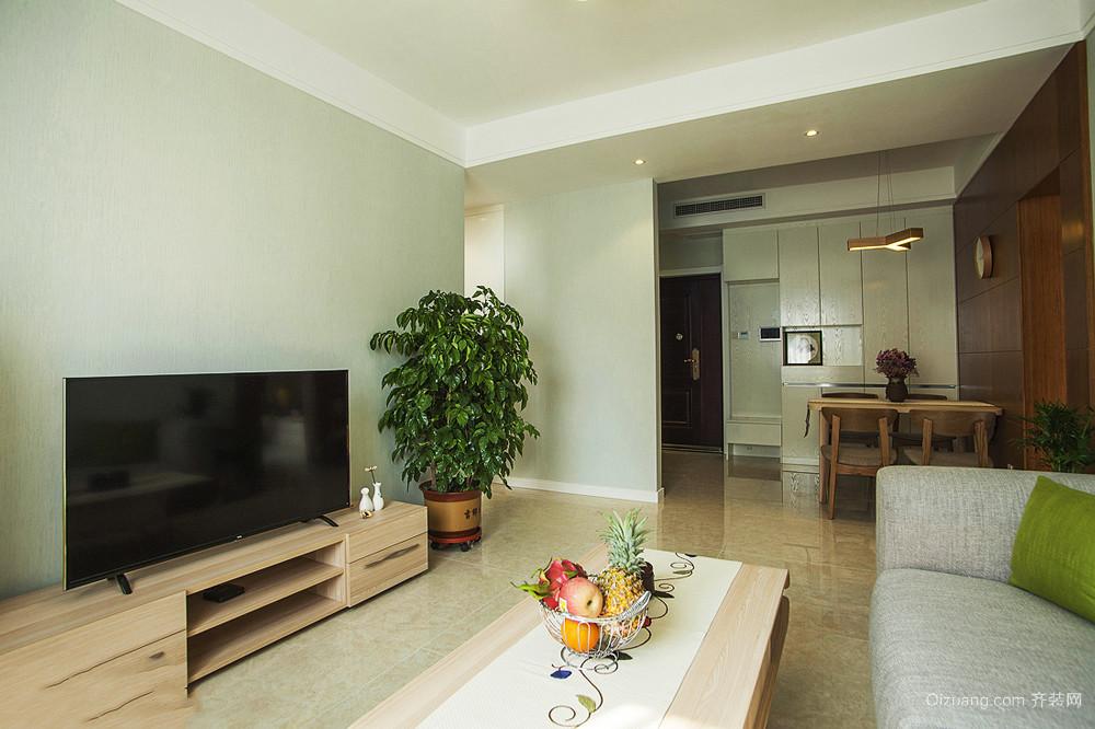 70平米宜家风格简约温馨两室一厅是室内装修效果图
