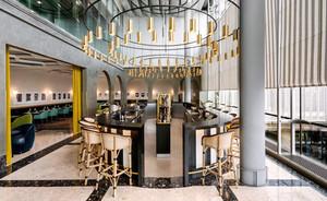 欧式风格精致五星级餐厅设计装修效果图