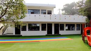400平米现代简约风格幼儿园环境布置装修效果图