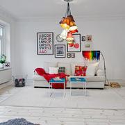 北欧风格时尚个性客厅装修效果图赏析