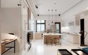 70平米现代风格精装单身公寓装修效果图赏析