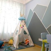 北欧风格温馨浅色儿童房装修效果图赏析