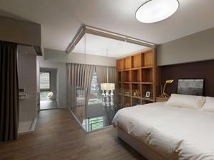 66平米都市简约风格loft装修效果图案例