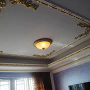 欧式风格大户型室内客厅吊顶设计装修效果图