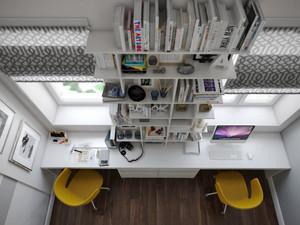简约风格书房装修效果图大全