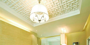 80平米新中式风格恬静室内装修效果图案例
