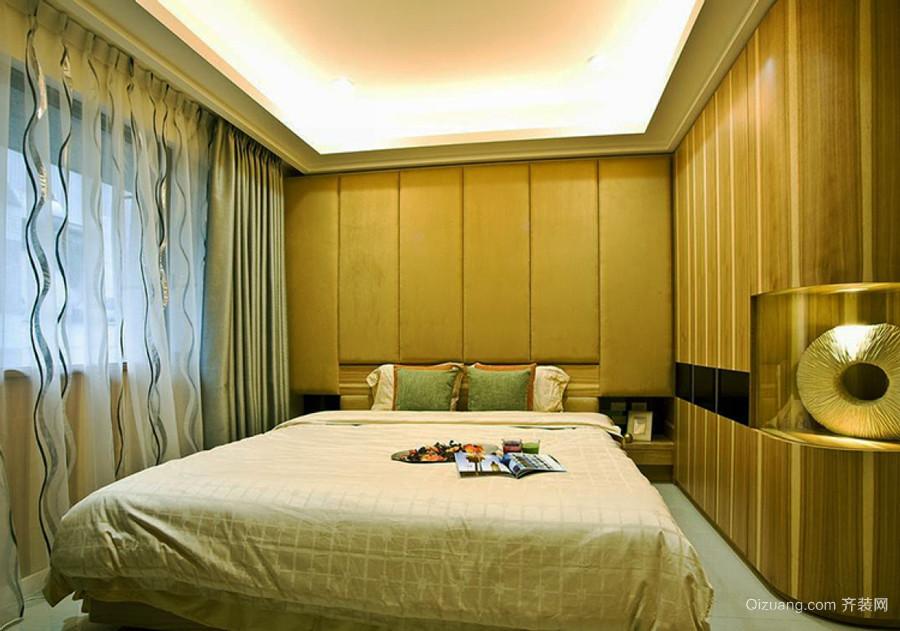 宜家风格两居室卧室整体衣柜设计装修效果图