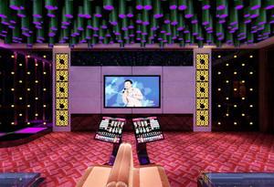 50平米现代风格KTV包厢设计装修效果图