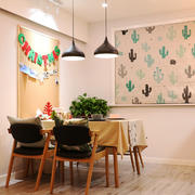 宜家风格简约温馨餐厅设计装修效果图