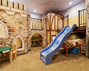 美式乡村风格创意儿童房设计装修效果图
