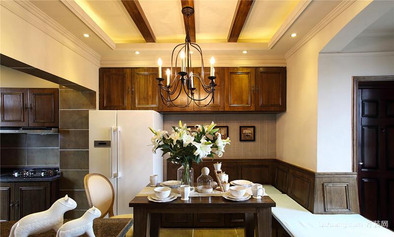 160平米复古欧式风格大户型室内装修效果图