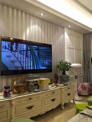 94平米简欧风格温馨婚房设计装修效果图案例