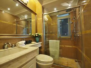 122平米简欧风格精装三室两厅两卫装修效果图案例