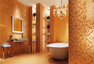 现代风格时尚多彩卫生间装修效果图大全