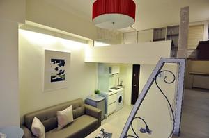 54平米现代简约风格loft装修效果图赏析
