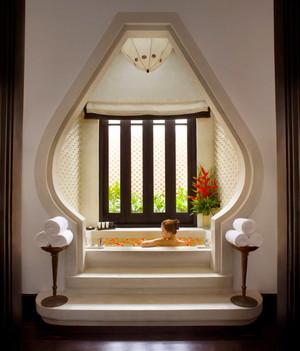 中式风格别墅室内卫生间装修效果图赏析