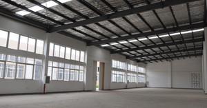 200平米简约厂房设计装修效果图