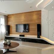 现代风格精致客厅电视柜设计装修效果图