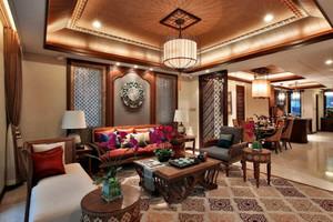 异域东南亚风格大户型客厅装修效果图鉴赏