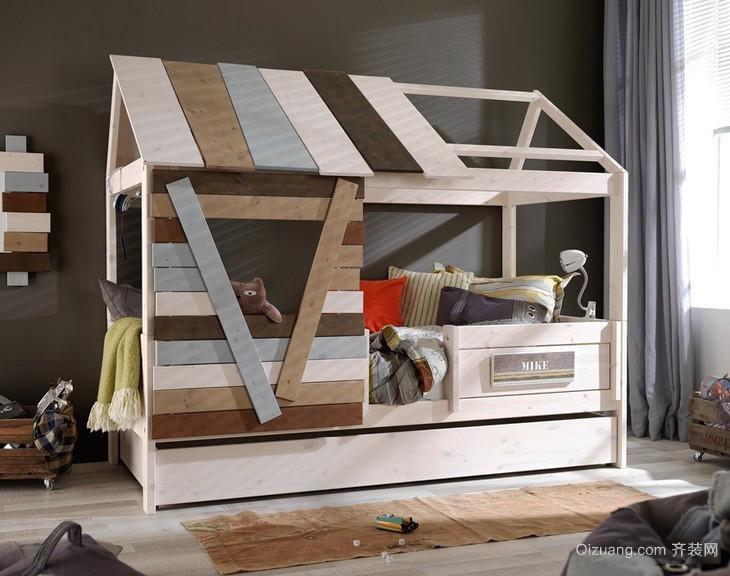 现代风格树屋主题儿童房装修效果图大全