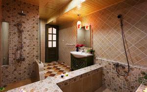 140平米浪漫法式风格三室两厅室内装修效果图