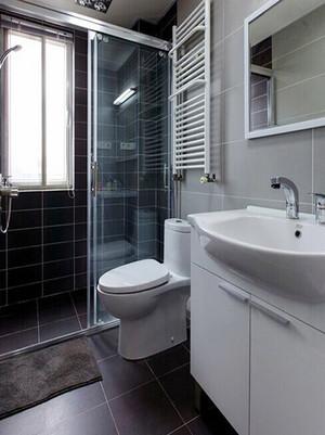 68平米后现代风格一居室装修效果图案例