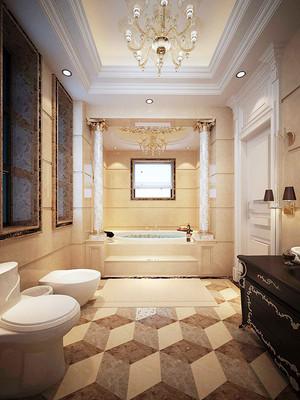 300平米欧式风格别墅装修效果图案例赏析